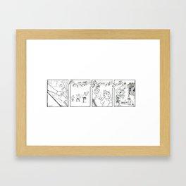 Kane and Ein 8 Framed Art Print