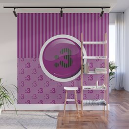 Purple Writer's Mood Wall Mural