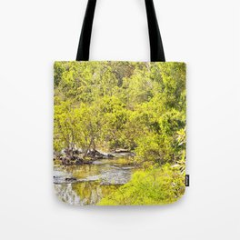 The Edge of the River Tote Bag