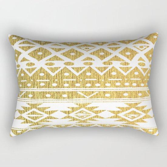 GOLDEN TRIBAL Rectangular Pillow