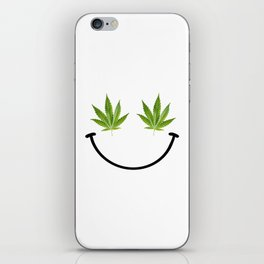Weed Smile iPhone Skin