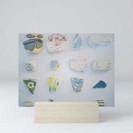 Sea Pottery Mini Art Print