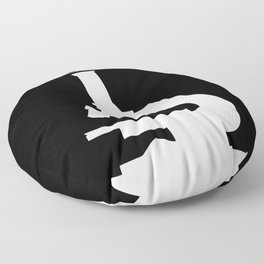 I've Had Enough, I Go To The Lab! Floor Pillow