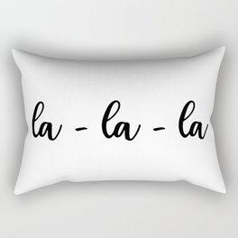 la-la-la Rectangular Pillow