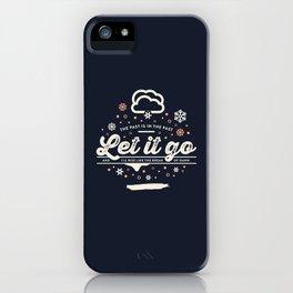 Let It Go - Idina Menzel (Frozen) iPhone Case