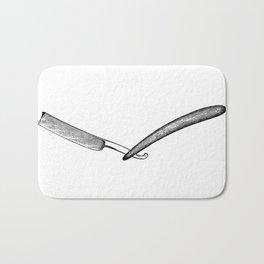 Straight razor Bath Mat
