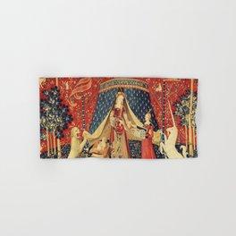 Lady and Unicorn Hand & Bath Towel