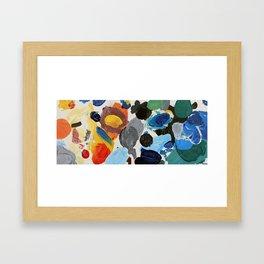 Colors 1 Framed Art Print