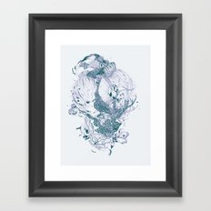 Beautiful Stranger Framed Art Print