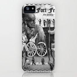 Fort Fest Illustration iPhone Case