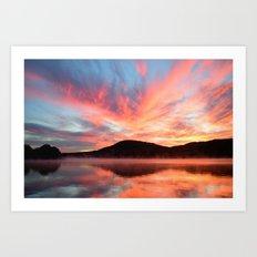 Glory: A Spectacular Sunrise Art Print