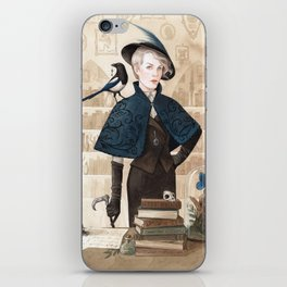 Magpie ~ A Compendium Of Witches iPhone Skin