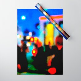 LA at Night Wrapping Paper
