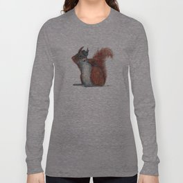 Squirrels' hat Long Sleeve T-shirt