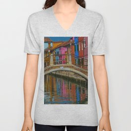 Bridge of Reflection Unisex V-Neck