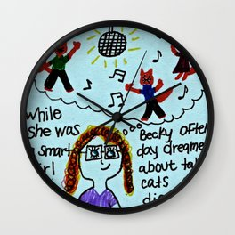 Benevolent Becky  Wall Clock