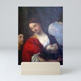 Francisco Nery - Salome with the Head of Saint John the Baptist Mini Art Print