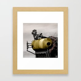 The Thing, Astoria, Oregon Framed Art Print
