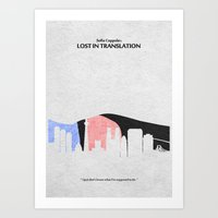 lost in translation Art Prints featuring Lost in Translation by A Deniz Akerman