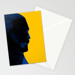 L'homme - electric Stationery Cards