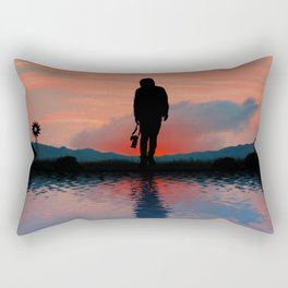 Its Time To Home Rectangular Pillow