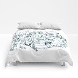 The Little Mermaid (Wonderful Mess Series) Comforters