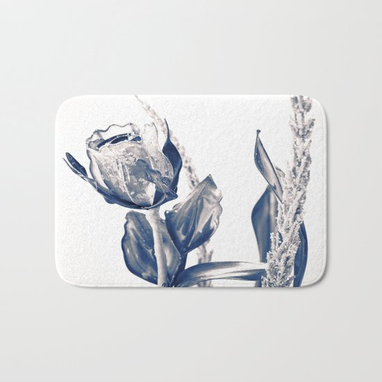 Glass rose Bath Mat