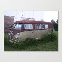 vw Canvas Prints featuring VW by Andrea Jean Clausen - andreajeanco
