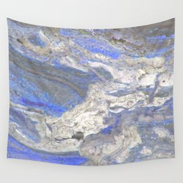 Arabescato-Orobico-Blue-Marble Wall Tapestry