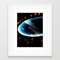 astronomy Framed Art Prints featuring Astronomy Ceiling by VitaniVerci