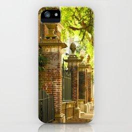 Legare Street Walk iPhone Case