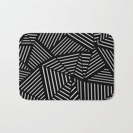 Ab Linear Zoom Black Bath Mat