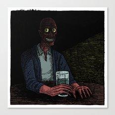 A stranger in the corner Canvas Print