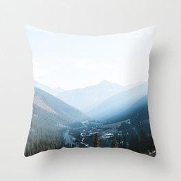 Million Dollar Highway Throw Pillow