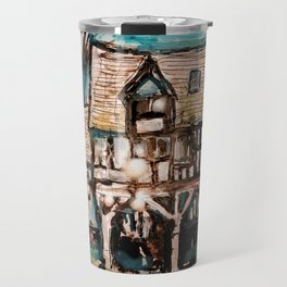Bear Steps Fantasy Travel Mug