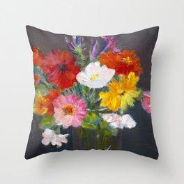 Fall arrangement Throw Pillow