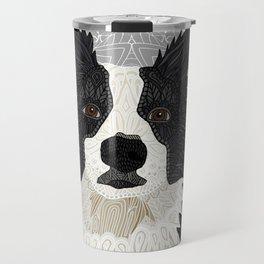 Beautiful Border Collie Travel Mug
