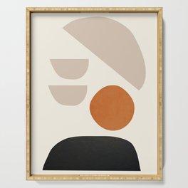 abstract minimal 62 Serving Tray
