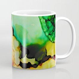 Emerald and Amber Coffee Mug