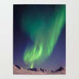 The Northern Lights (Aurora Borealis) Poster