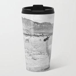 LLAMAS / Tupiza, Bolivia Travel Mug