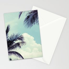 Welcome to Miami Palm Trees Stationery Cards