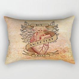 My Sweetest Angel Rectangular Pillow
