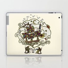 My Father was a Sailor, and My Mother, a Quilter Laptop & iPad Skin