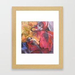 New Red Riding Hood (the last supper) Framed Art Print