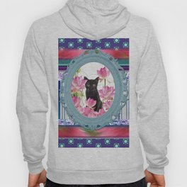 Frame Black Cat pattern Hoody
