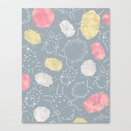 Water Bugs Canvas Print