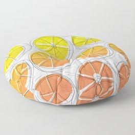 Red Lemonade Floor Pillow