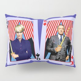 Frank and Claire - An Odd Pair Pillow Sham