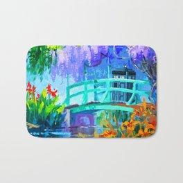 Tardis Art And The Bridge Bath Mat